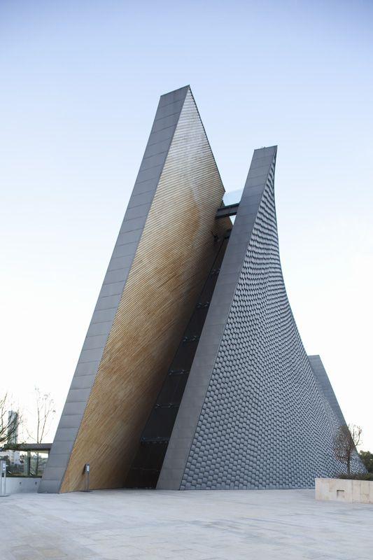 Javier Sordo Madaleno  Bringas - San Josemaría Escrivá Church | via designismymuse