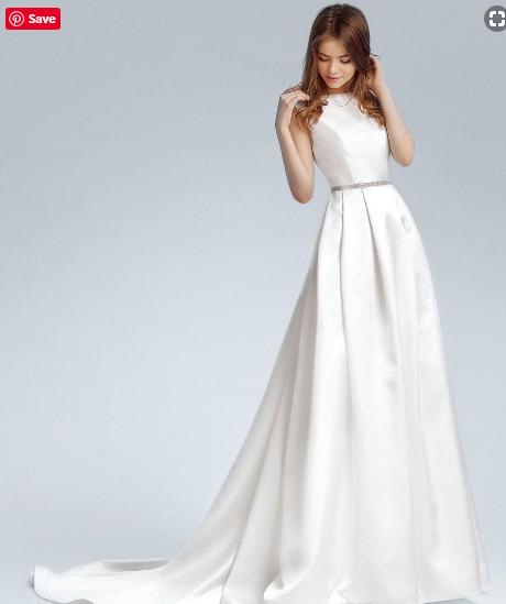 9917ae702c Simple Wedding Dresses ..2019 - فساتين زفاف بسيطة .. 2019 | Weddings ...
