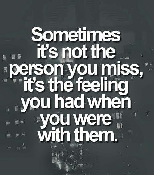 Powerful Little Quote Sad Quotes T: I Do Miss People That Were And Are Very Special To Me. It