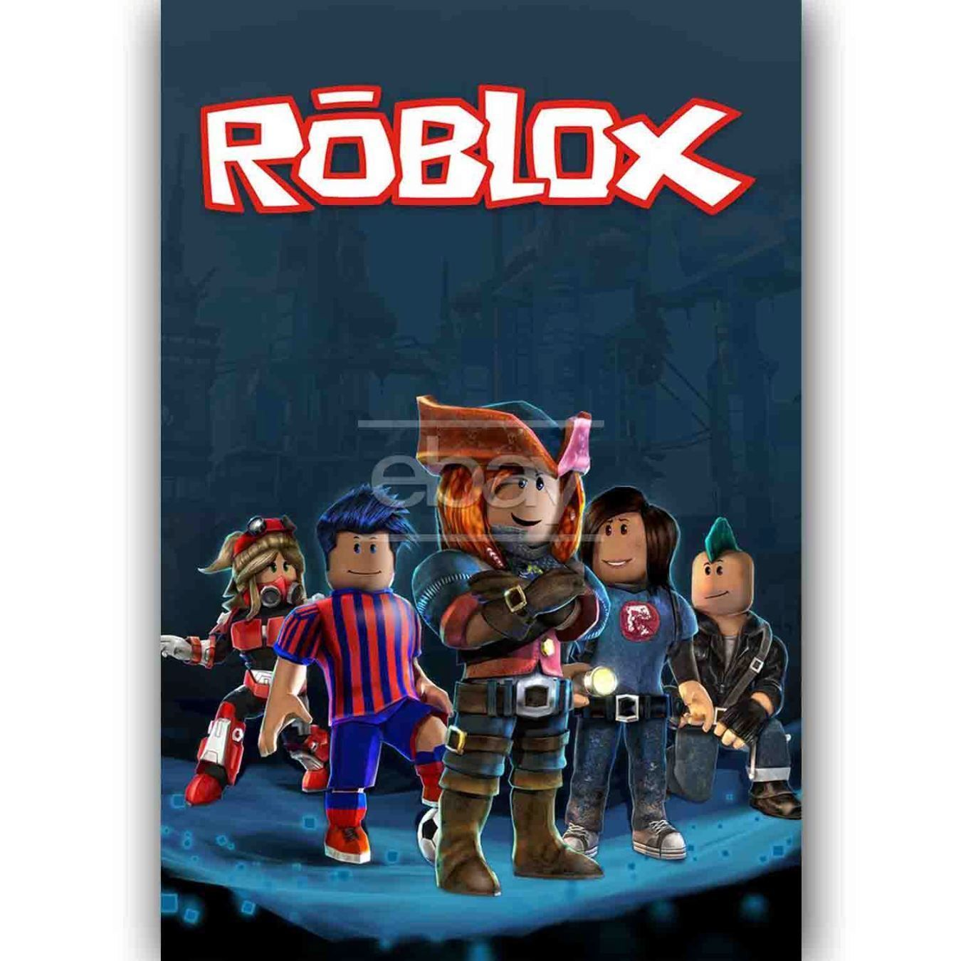 Custom Silk Poster Wall Decor Roblox
