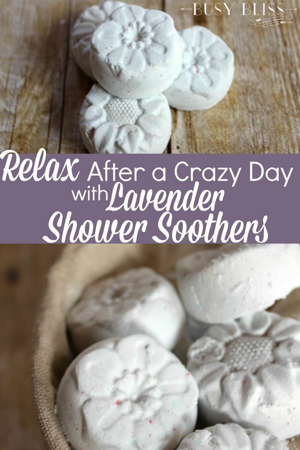 Relax After a Crazy Day with Lavender Shower Soothers