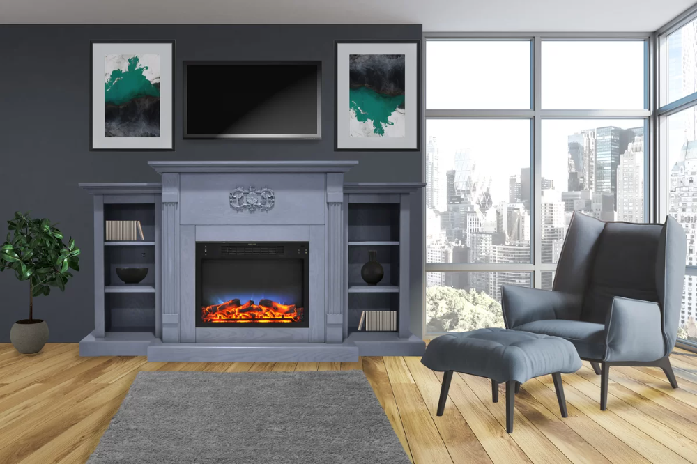 Find The Perfect Electric Fireplaces Stoves Wayfair In 2020
