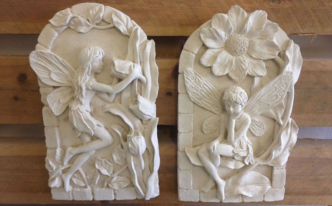 Wonderful Geoffs Garden Ornaments Also Supply A Range Of Wall Plaques.