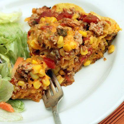 Recipes Disney Family Ground Turkey Recipes Easy Taco Casserole Recipes