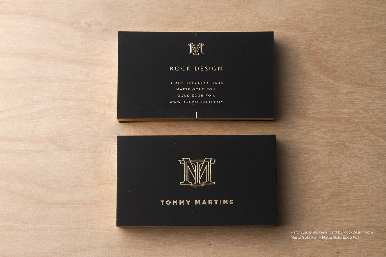 Hard suede business cards rockdesign luxury business for Upscale business cards