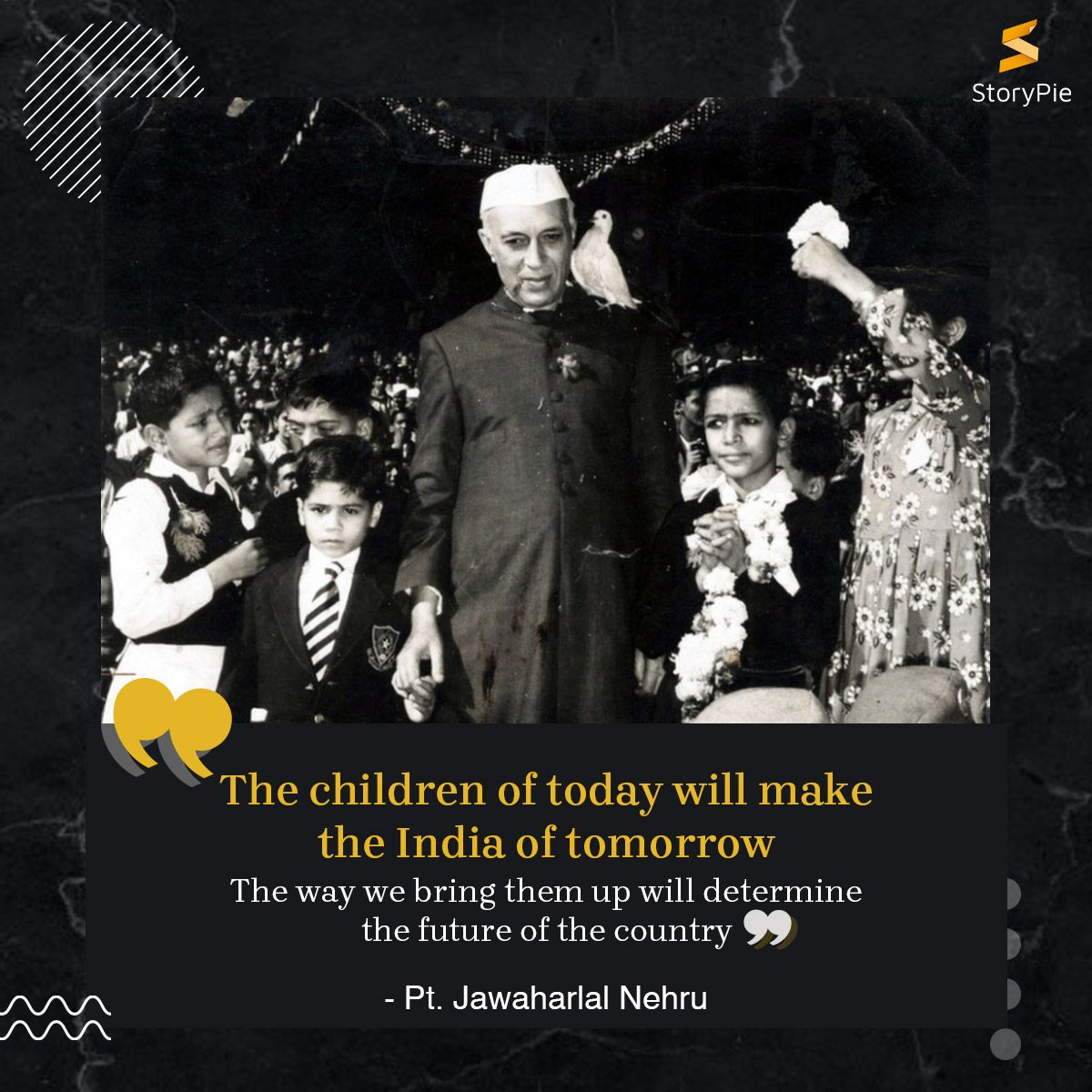On ChildrensDay2019 Remembering the first Prime Minister