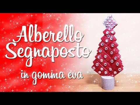 Decorazioni Natalizie Youtube.Diy Segnaposto Per La Cena Di Natale Decorazioni Natalizie