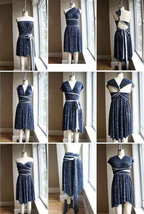 Maxi Convertible Multi Way Dress Dress Sewing Tutorials
