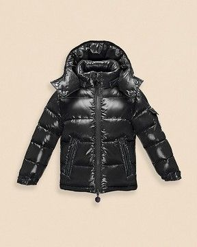 7e42b6264 Moncler Boys' Maya Shiny Classic Puffer Coat - Sizes 8-14 on ...