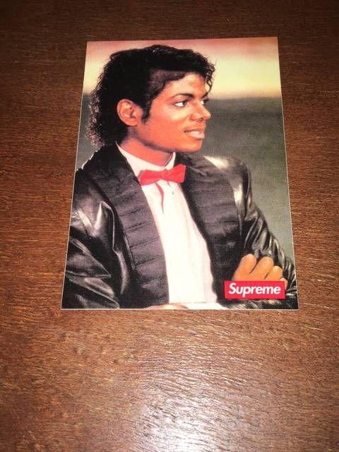 Supreme Suprememichael Jackson Sticker Crib Michael