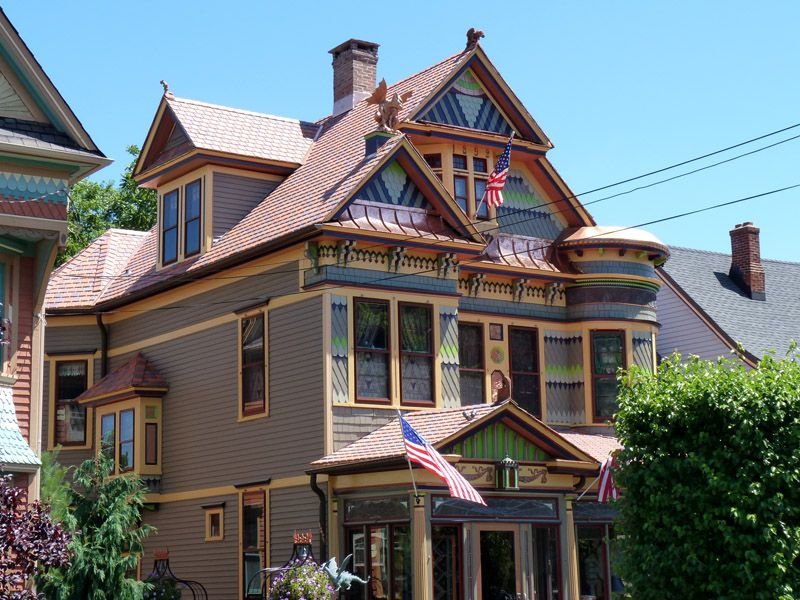 Roof Repair Replacement Gallery House Designs Exterior Victorian Homes Copper Roof