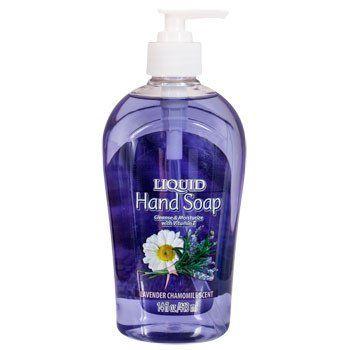 Lavender Chamomile Liquid Hand Soap 14 Oz Hand Soaps