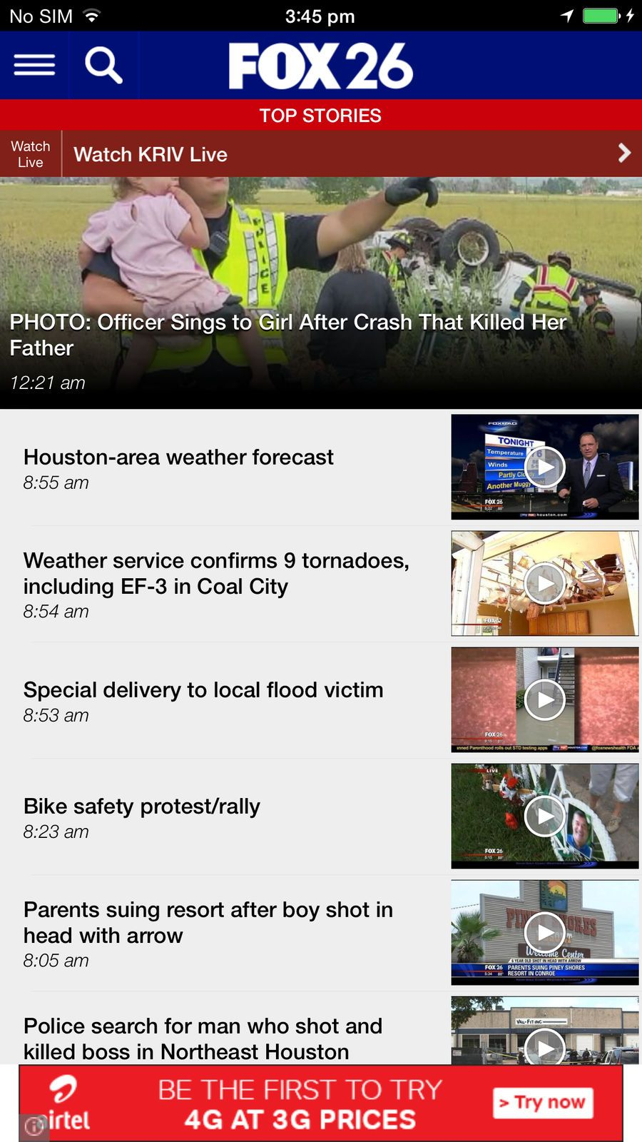 FOX 26 News WeatherStationsappsios App, Iphone, Weather