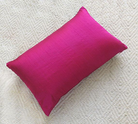 Deep Fuchsia Pillow Cover Pink Pillows