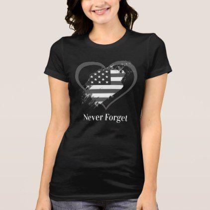 Custom heart usa flag never forget memorial shirt cyo customize custom heart usa flag never forget memorial shirt cyo customize design idea do it solutioingenieria Images