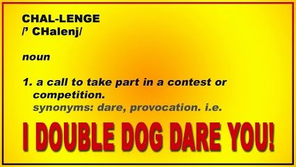 Challenge Noun Call To Take Part In A Contest Or Competition I