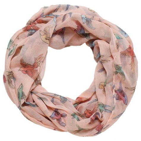David & Young Womens Flying Birds Scarf: Shopko. $14.99 So pretty!!!!