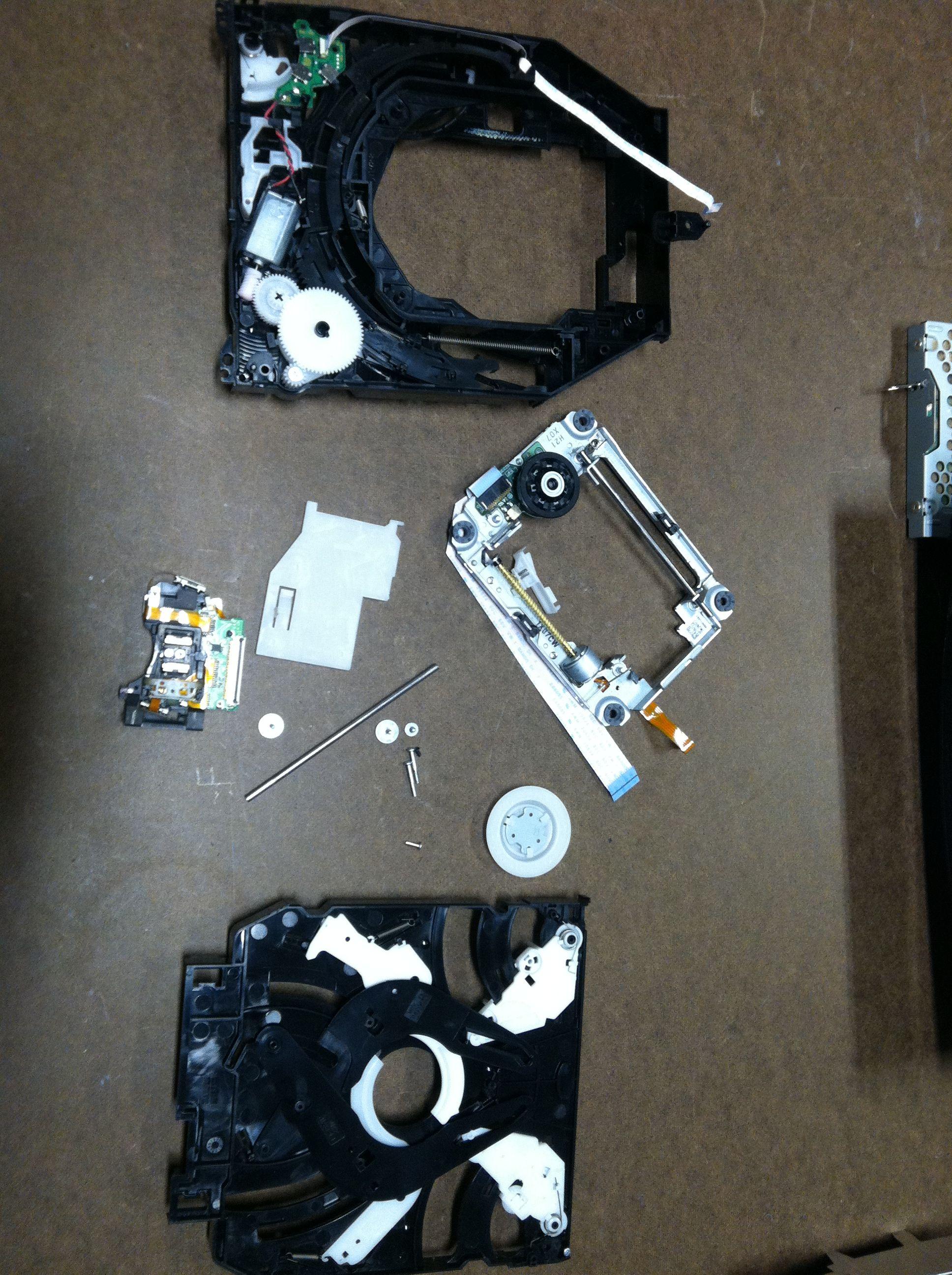 PS3 BluRay Repair