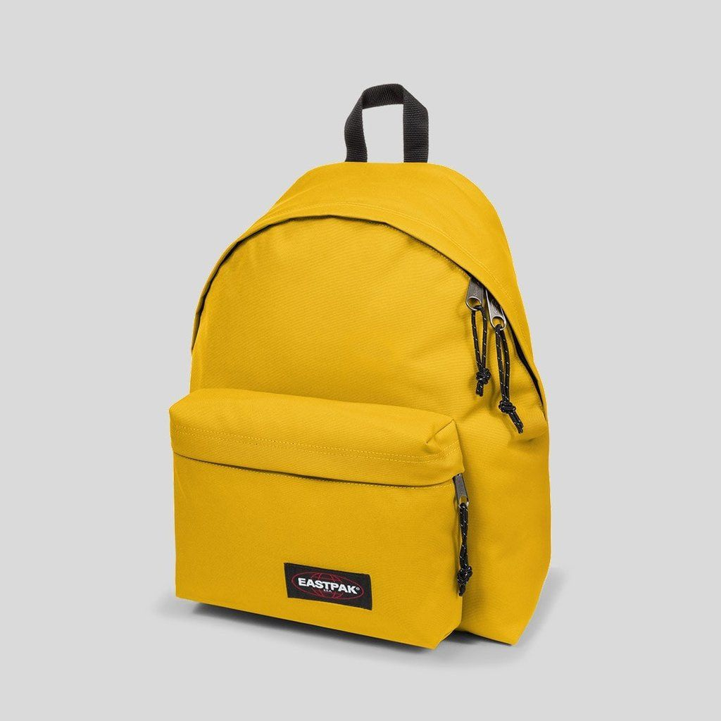 SAC A DOS EASTPAK OUT OF OFFICE PRINT URBAN YELLOW ÉDITION LIMITÉE COLLECTOR