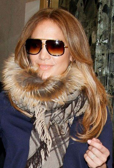 5f4f710005d9 Jennifer Lopez wearing the  DITA Mach One. Again! Shop your very own pair  at  SunglassCurator.com