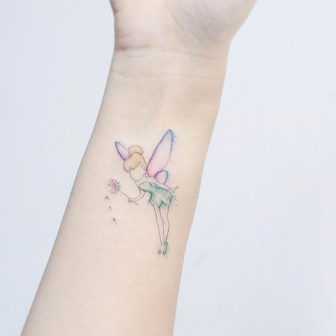 Finger Bell Artist Hktattoo Mini Tinker Bell Tattoo Tattoos