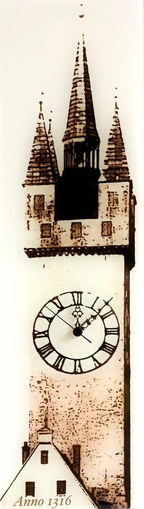 Stadtturm Wanduhr - Die Kult-Uhr aus Straubing Wohnzimmer - schöne wanduhren wohnzimmer