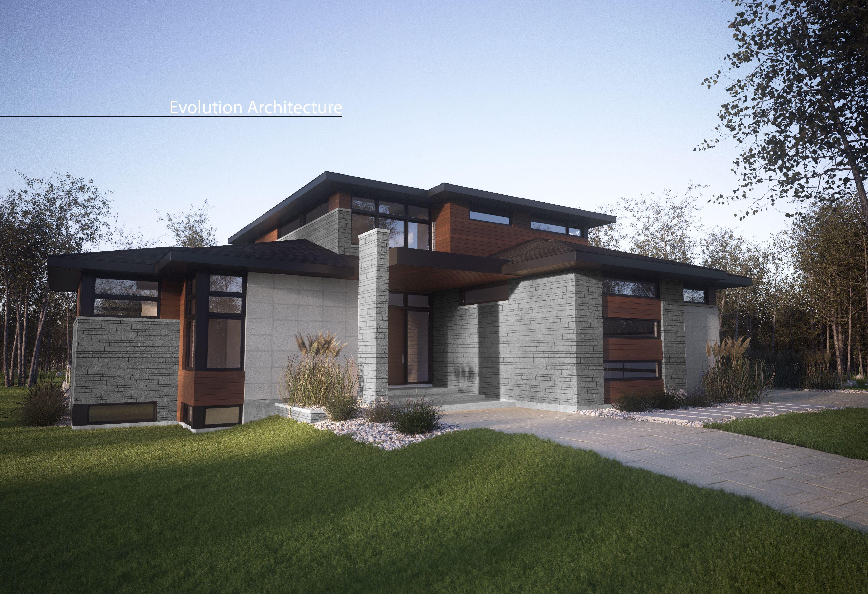 Evolution Architecture, Maison Contemporaine, Cr Ation Exclusive E 887