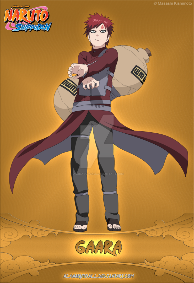 gaara is the 5th kazekage of the hidden sand village son of the 4th