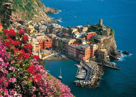 jigsaw puzzle vernazza 4000 pieces clementoni free time pinterest. Black Bedroom Furniture Sets. Home Design Ideas