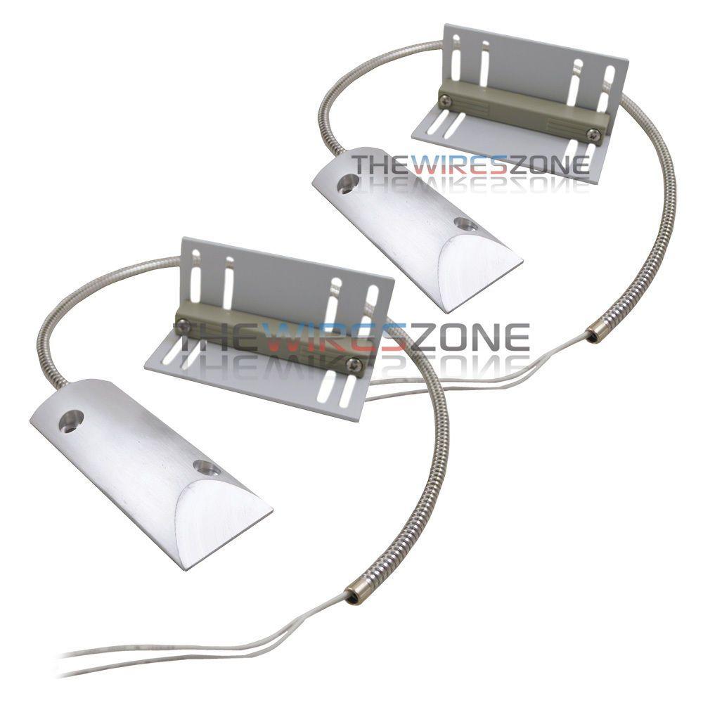 2 Pack Overhead Door Floor Garage Shutter Contact Sensor Security Alarm Switch Thewireszone Overhead Garage Door Overhead Door Garage Doors For Sale