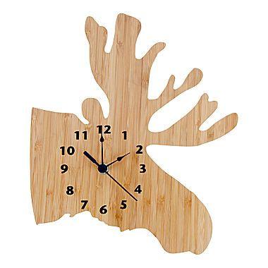 jcp | Trend Lab® Northwoods Moose Clock