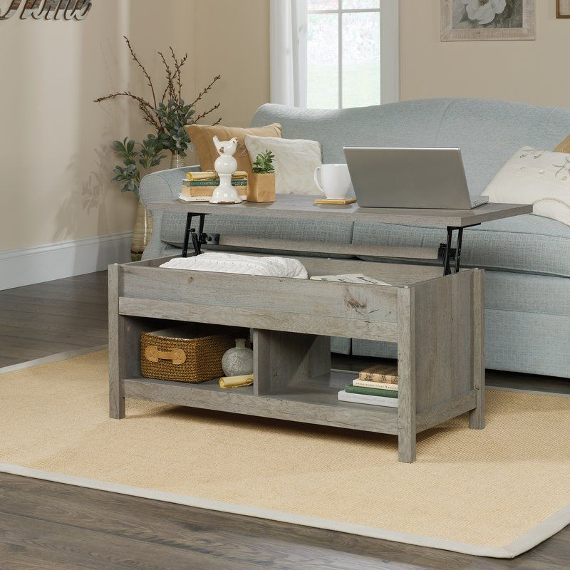 Tilden Lift Top Coffee Table With Storage Lift Top Coffee Table