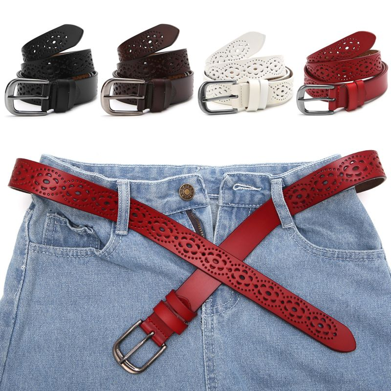 >> Click to Buy << New Women Fashion Wide Genuine Leather Belt Woman Without Drilling Luxury Jeans Belts Female Top Quality Straps Ceinture Femme #Affiliate