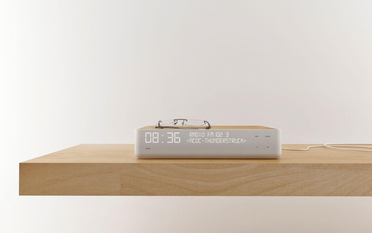 Alarm clock radio Despertador 2011 Stone Designs