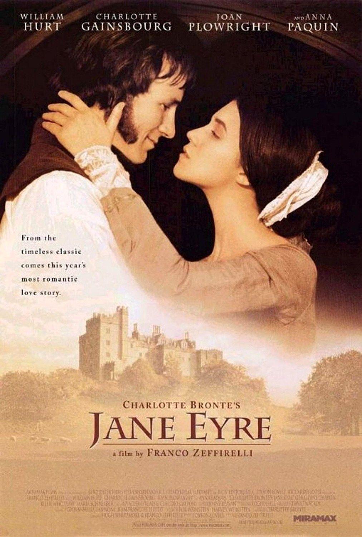 """""""La compagnia di Edward non mi stanca mai, lui non si stanca mai della mia, cosi come non ci stanchiamo delle pulsazioni del cuore che batte nei nostri petti."""" Jane Eyre (1996), Franco Zeffirelli's adaptation of Charlotte Brontë's 1847 novel."""