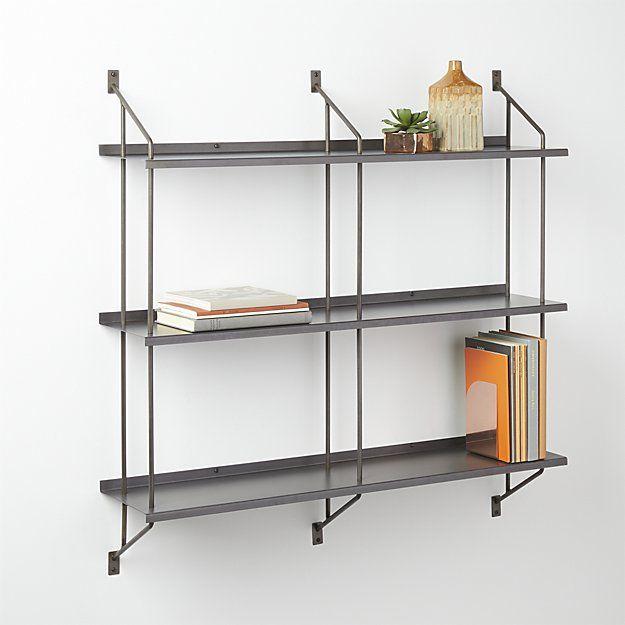 Modular Wall Shelving stretch modular wall shelf | modular walls, shelves and walls