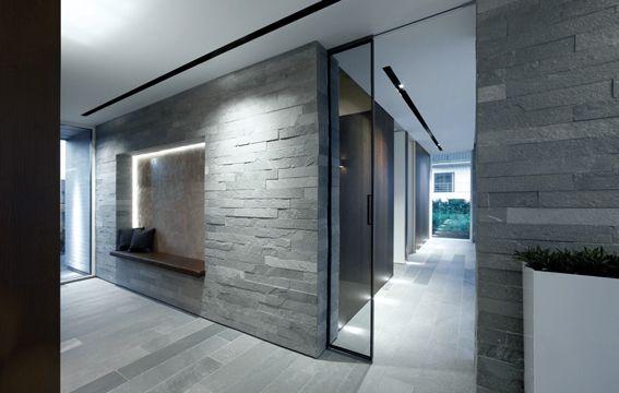 Villa S | Appartamenti Rimadesio: porte scorrevoli in vetro e ...