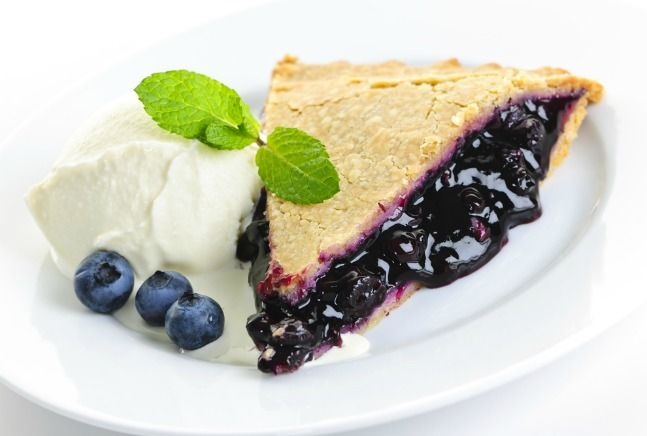 Blueberry Pie for the summer!