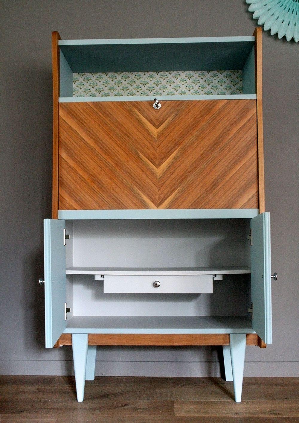 meubles secretaire vintage octave img 7 r nov s upcycled. Black Bedroom Furniture Sets. Home Design Ideas