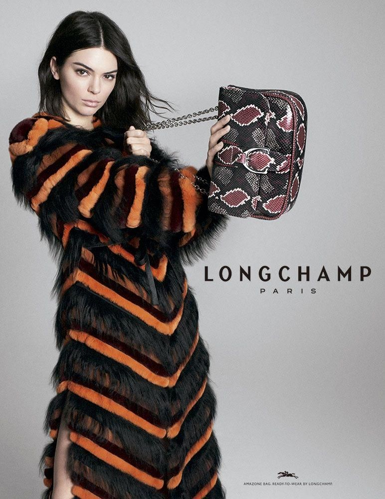 497ddc044024 Longchamp enlists Kendall Jenner for fall-winter 2018 campaign   Burberryhandbags