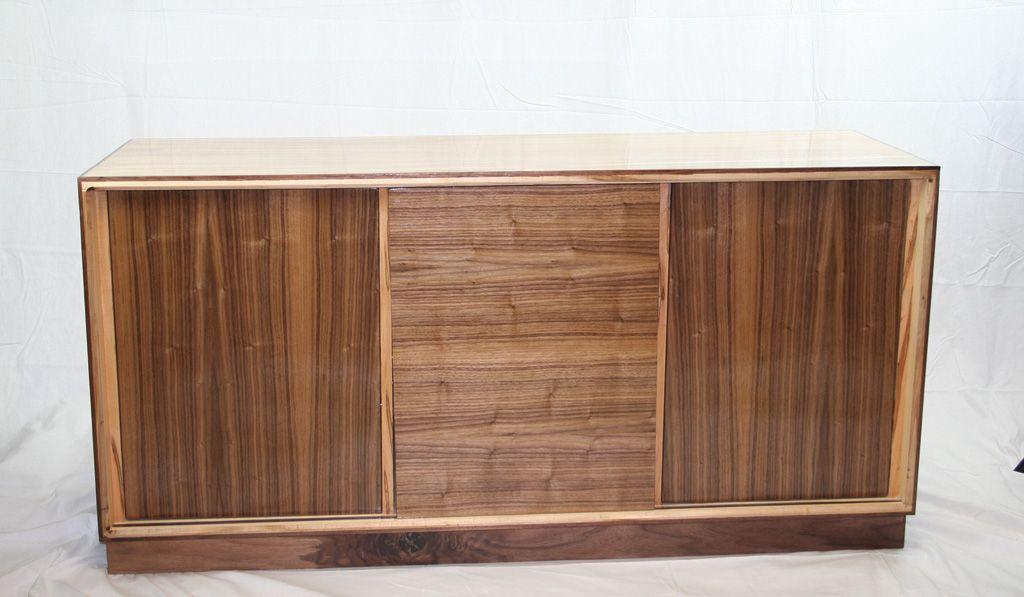 Wormy Maple Sideboard Cabinet | Sideboard cabinet, Custom ...