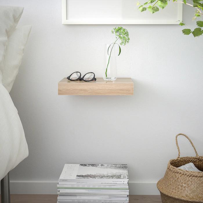 Lack Wall Shelf White Stained Oak Effect Ikea In 2020 Wall Shelves Ikea Lack Wall Shelf Ikea Lack