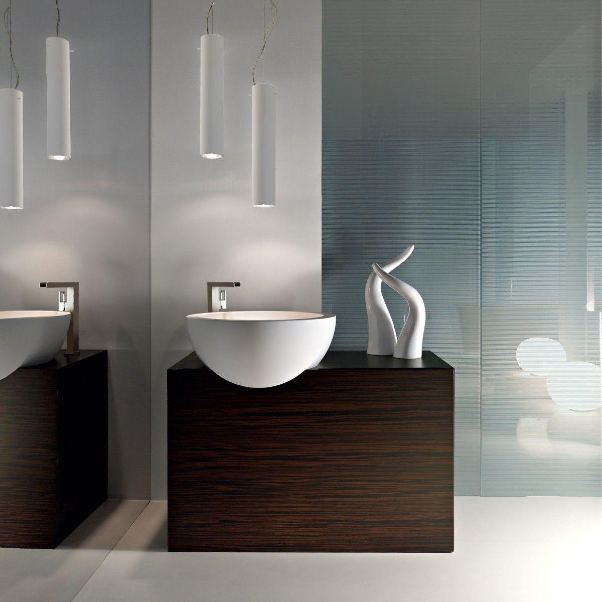 Ultra Modern Italian Bathroom Design Deco Salle De Bain Toilette Meuble Sous Lavabo Vasque Salle De Bain