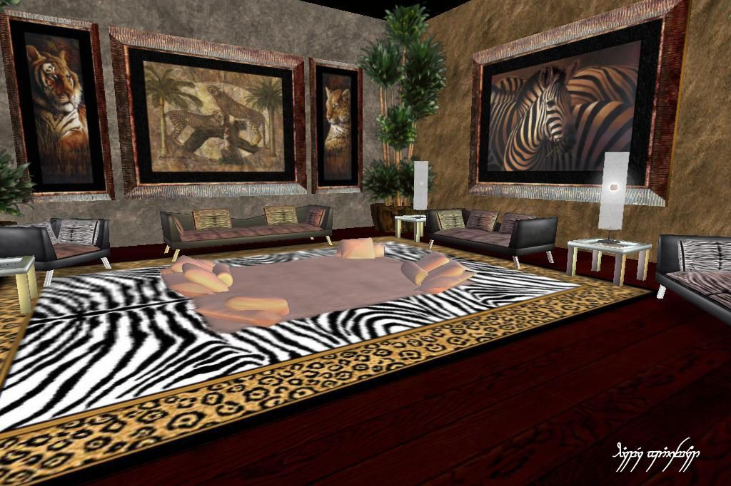 Jungle themed rooms for adults jungle theme room d cor for Jungle living room ideas