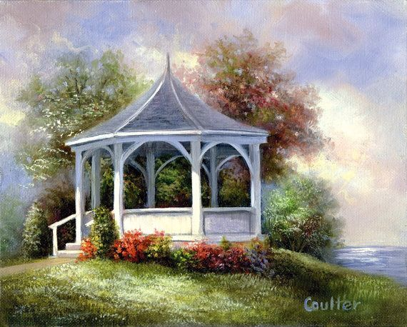 Paint Your Own Masterpiece On Canvas Gazebo By Craftitinc On Etsy