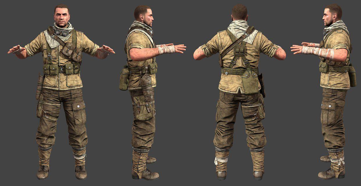 Sniper elite 3 karl by luxox18 cosplay pinterest characters sniper elite 3 karl by luxox18 voltagebd Images
