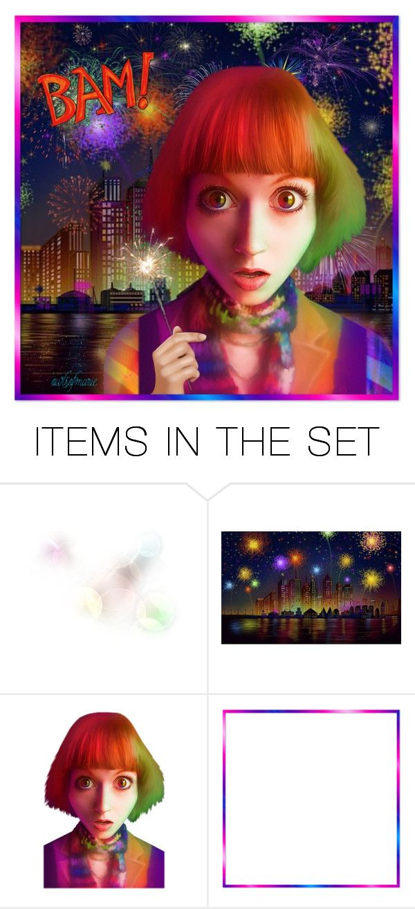 """Fire Flower Show"" by owlsofmarie ❤ liked on Polyvore featuring art"