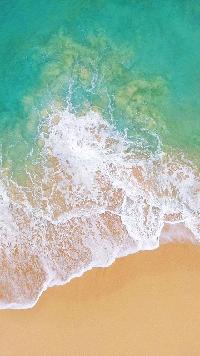 Ios 11 Wallpaper Hd Iphone Wallpaper Ocean Beach Wallpaper