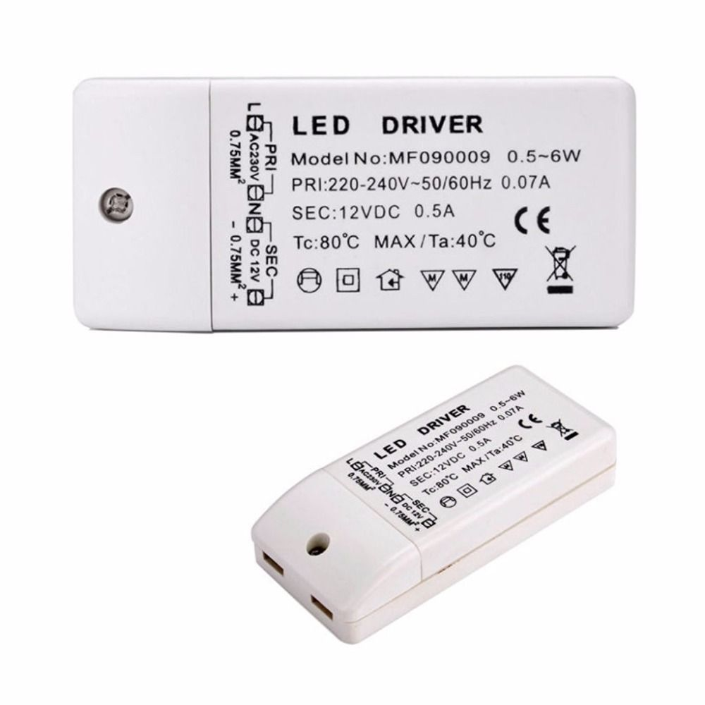 Led Driver Transformer 50w 30w 18w 12w 6w Dc 12v Output 1a Power Adatper Power Supply For Led Lamp Led Strip Downlight Led Transformadores Lampara