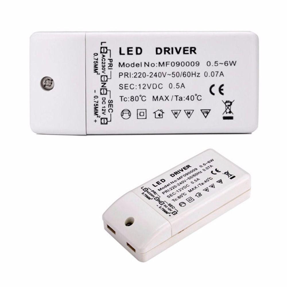 Led Driver Transformer 50w 30w 18w 12w 6w Dc 12v Output 1a Power Adatper Power Supply For Led Lamp Led Strip Downlight Led Transformadores Lampara